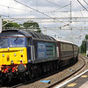 21 July. 47805 tails the 1Z60 1144 Milton Keynes - Chester Northern Belle through Wolverton.