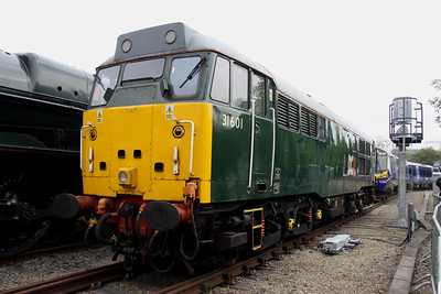 2 June. BAR operated but DCR branded 31601 on display. 31601 was formerly 31186.
