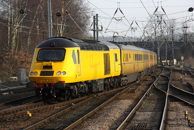 2 March. Unnamed 43013 was on the rear of 1Q91 as it left Norwich.