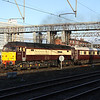 20 October. The sun is just high enough to illuminate 47790 Galloway Princess leaving Crewe with the Northern Belle working the 1Z45 0730 Manchester Victoria - Bath Spa.