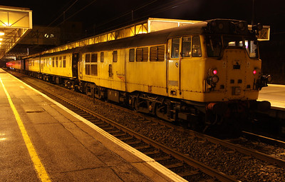 13 April. Goyle 31285 had led the 3Q31 into MK and is seen here awaiting departure back south.
