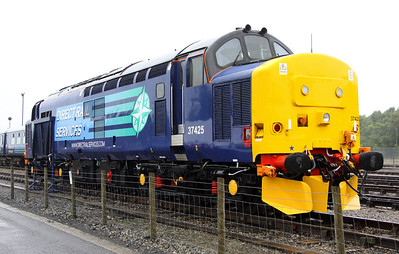 17 Aug. Waiting to be named, 37425 was the star attraction at this years Kingmoor event.