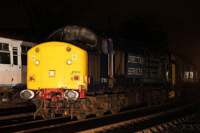 6 Dec. 37510 the former Eastfield allocated 37112 is presently stored at Barrow Hill.