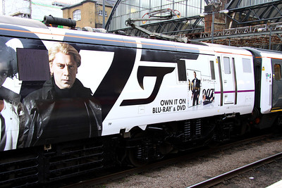 16 February. 91007 complete with SKYFALL vinyls showing the launch of the DVD and blue ray DVD.