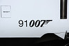 16 February. A nice touch as the loco number now carried incorporates the 007 gun logo.