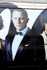 16 February. The image of Daniel Craig seen here is the one from the sleeve of the DVD.