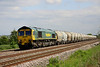 1 June. 66515 cambers past Oakley atop the 6M92 West Thurrock - Earles Sidings.