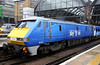 5 Nov. A closer view of 91125 at 'The Cross'. She was formerly named BBC Radio One FM and more recently, Berwick-upon-Tweed.