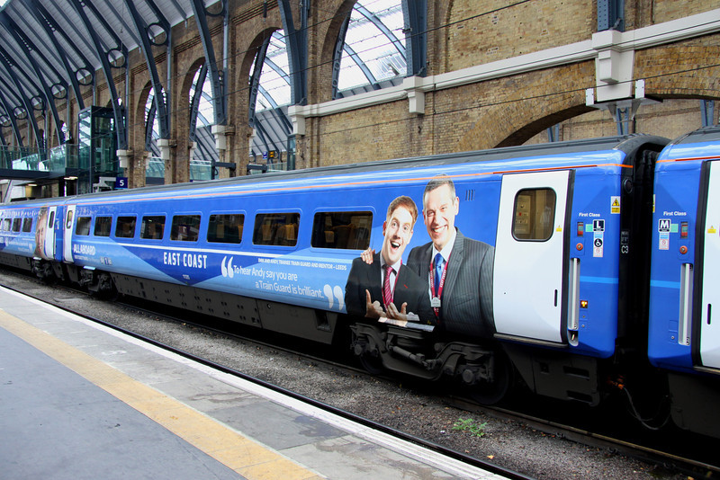 5 Nov. Mark 4 open first disabled 11325 at King's Cross.