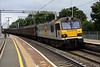 14 Sep. The 6O67 1405 Daventry - Dollands Moor vans head south at Wolverton behind 92037 Sullivan.