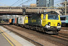 8 September 2014. Pioneer fugly 70001 PowerHaul groans past Stratford with the 4M93 1432 Felixstowe - Lawley Street.