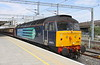 26 June 2015. 47813 Solent stands at Bletchley on the rear of the 1Z57 0637 Liverpool Lime Street - Bletchley Northern Belle. The sight of a 47 on the Northern Belle is now a rarlty with class 57's the preferred traction. 47813 had replaced 57312 at Crewe which had failed.