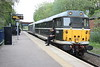 8 May 2015. Taking it easy as 31190 on 5Z31 taking a break during a signal check at Fenny Stratford.