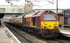 18 March 2017. 67022 pulls into MK leading 'The Shoulder of Lune', the 1Z18 0709 Euston - Heysham Harbour.