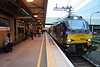 9 May 2017. 88002 Prometheus arrives back into MK with the return leg of the Class 88 VIP Launch Train, the 1Z89 1640 Carlisle - Euston.