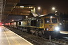 15 November 2017. 66590 pulls into Bletchley with 387171 in tow with the 7X33 1814 ex Litchurch Lane. This delivery leaves only 387172 - 174 to arrive at Bletchley for commisioning