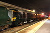 15 September 2017. Another Friday night 387 delivery sees 387162 arrive at Bletchley behind 66596 as the 7X33 ex Litchurch Lane.