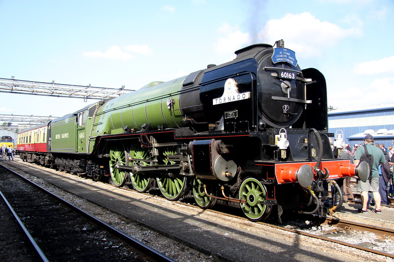 2 September 2017.  A1 steam 60163 TORNADO.