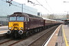 14 April 2018. 57313 awaits the off at MK with the 1Z59 0647 to Liverpool Lime Street.