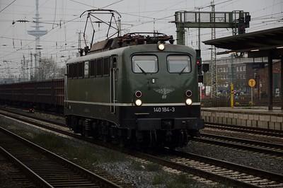 140 184 passes through Bremen Hbf 16 November 2017