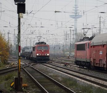155 065 approaches 155 180 Bremen Hbf 16 November 2017