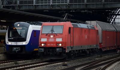 440 345 & 185 379 Bremen Hbf 16 November 2017