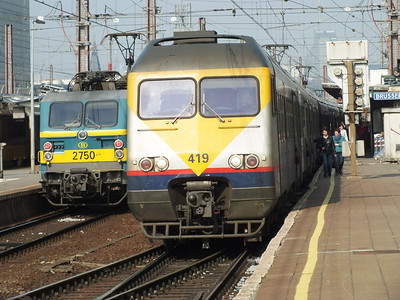 419 & 2750 Brussels Midi 28 March 2012