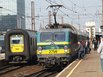 2756 & 563 Brussels Midi 28 March 2012