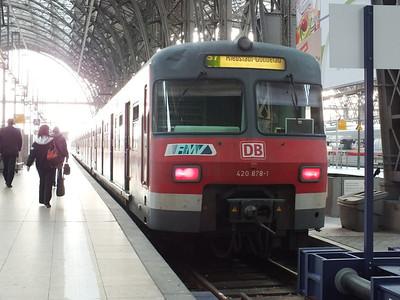 420 878 Frankfurt Hbf 22 April 2013