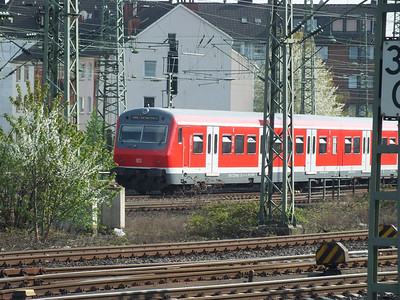DVT at Dusseldorf Hbf 25 April 2013