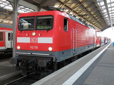 112 115 Halle Hbf 28 September 2011