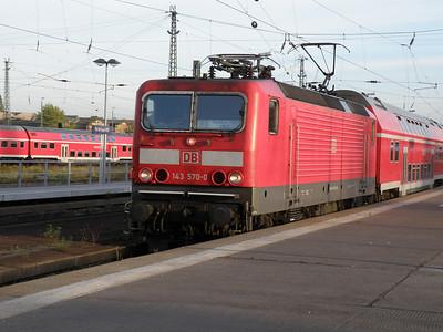 143 570 Halle Hbf 28 September 2011