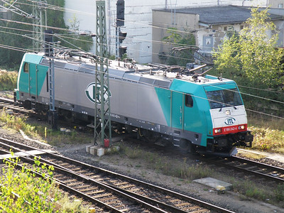 186 242 Dresden Friedrichstadt 29 September 2011 ITL operated loco.
