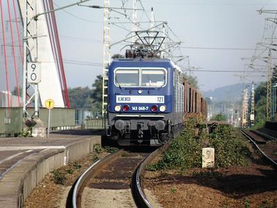 143 048 Niederwartha 29 September 2011 RBH operated number 121