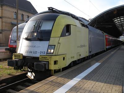 ES64 U2-013 Halle Hbf 28 September 2011 or 182 513-2