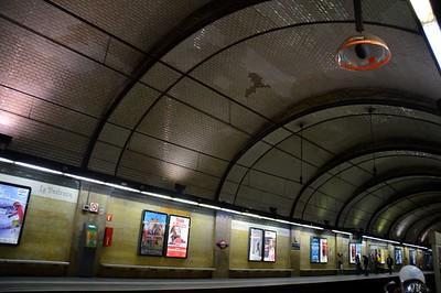 Station overview Provenca FGC 22 November 2014