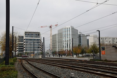 View of Vaulx-en-Velin 18 November 2018