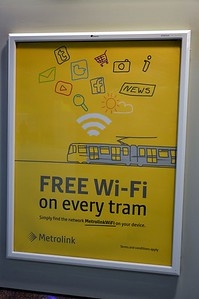 Metrolink Notice Manchester Piccadilly 5 August 2017