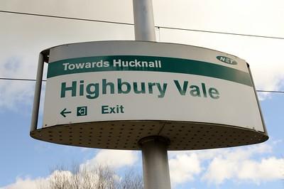 Highbury Vale signage 30 March 2016
