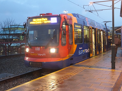 108 Meadowhall 27 December 2012
