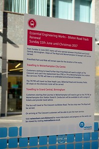 Notice at Bull St 31 August 2017