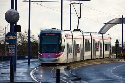 21 arrives at Wolverhampton 28 January 2017