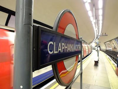 Signage Clapham North 21 August 2013