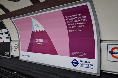 Off-Peak ad Earl's Court 7 June 2017