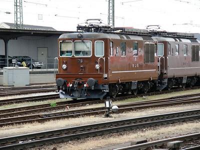 178 (BLS) Basel Badischer Bf. 14 September 2009