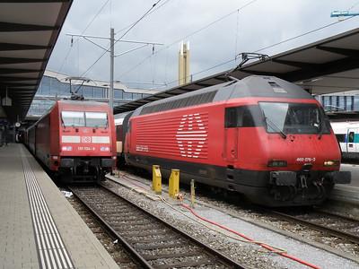 460 076 & 101 104 Basel SBB 14 September 2012