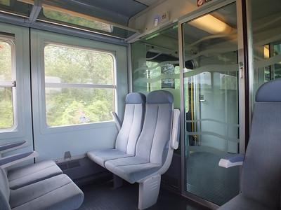 Interior of TER loco hauled set. 23 June 2013