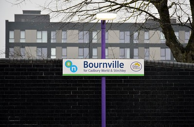 Bournville signage 20 January 2018