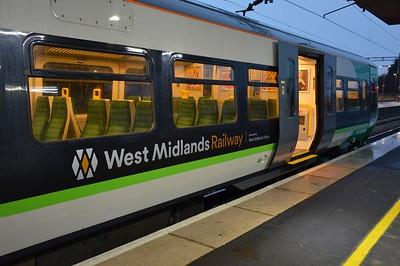 New WMR logo on 323 Birmingham International 20 January 2018