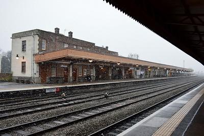 Leamington Spa station 21 January 2018